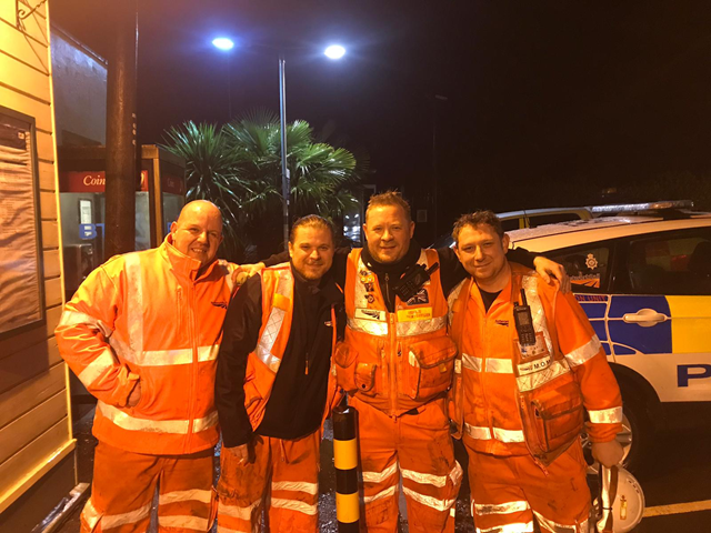 Network Rail's Southern Region completes roll out of secure radio capability, as Wessex route goes live to improve its emergency and incident response: Airwaves radio