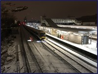 Southeastern and Network Rail confirm scope of independent investigation into Lewisham disruption: Lewisham stranded train - snow and ice