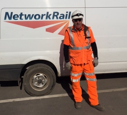Rob Welsh, project operations manager for Network Rail