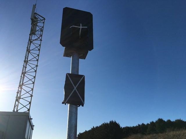 New LED signal bagged