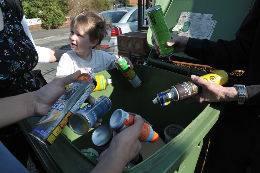 Rallying call to residents to make most of recycling services: recyclingathome.jpg
