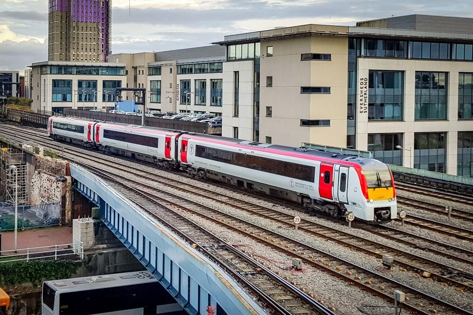 URGENT Storm Ciara Rail Update - Sunday Services 9th February 2020: TfW three-car Class 175