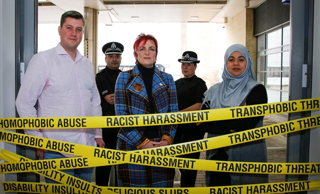 Angela Constance meets police and hate crime victims
