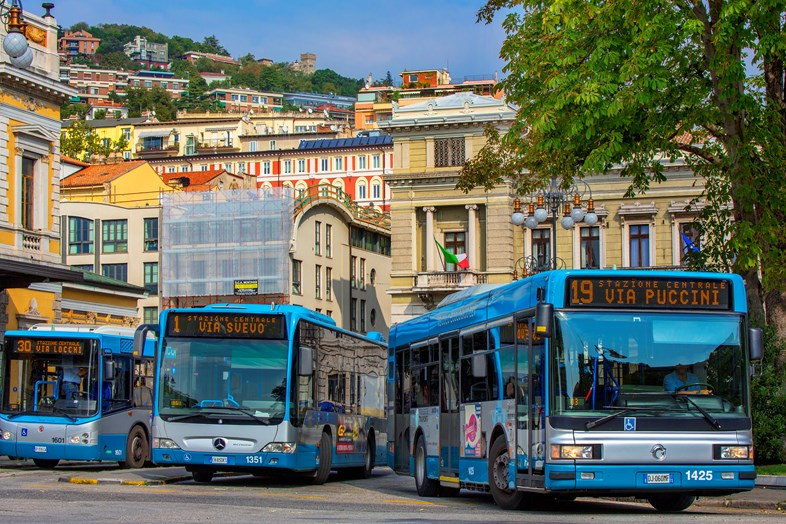 Arriva successfully defends 10-year bus contract in Northern Italy: Trieste Trasporti