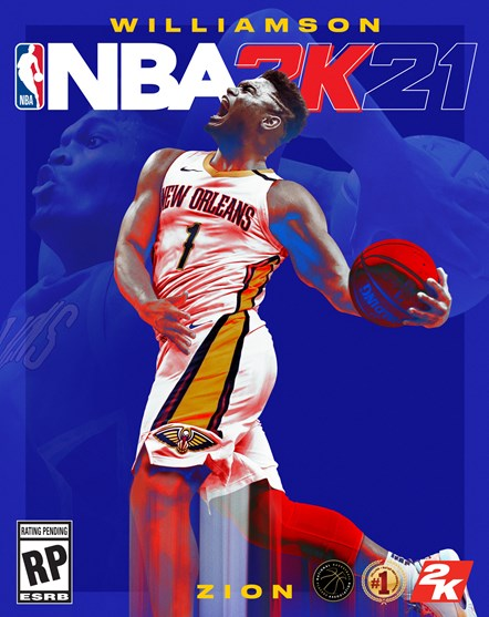 NBA 2K21 - Zion Williamson Next-Gen Cover Vertical