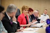 First Minister hosts roundtable on unaccompanied children 1