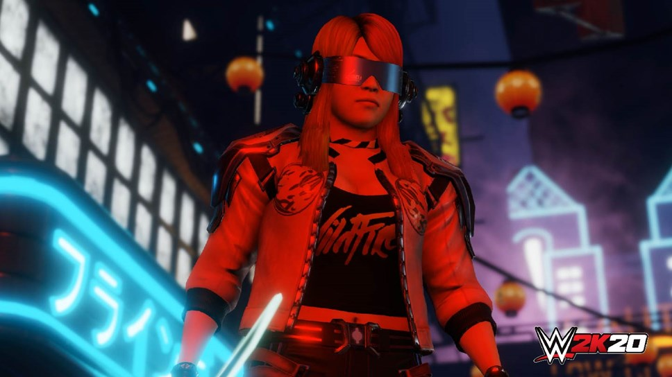 Welcome to the Empire of Tomorrow: The Final WWE® 2K20 Originals DLC Pack: WWE2K20 Originals Empire Of Tomorrow Asuka