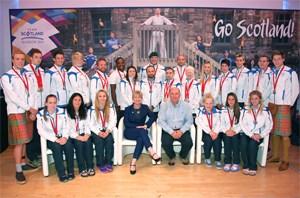 Best ever medal haul for Team Scotland