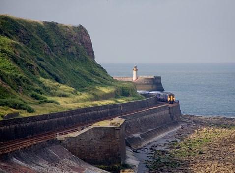 Cumbrian coast line near Whitehaven