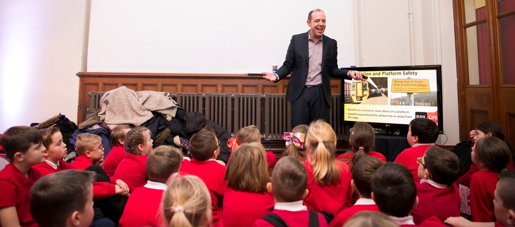 Key milestone reached in delivering vital rail safety message to school children across Wales and the Borders: Over 40,000 children across Wales and the Borders have received vital rail safety education in the under three years