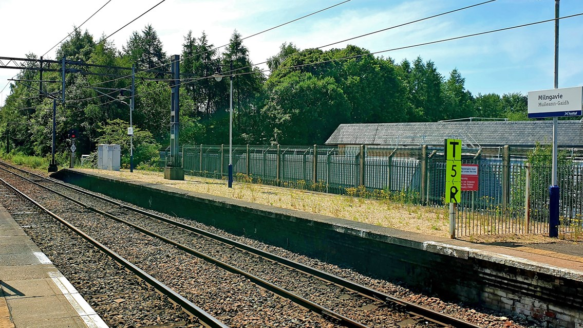 £5m Milngavie investment is platform for rail improvement: Milngavie platform