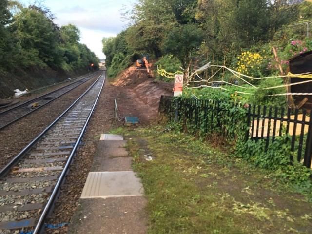 New longer platform for St James Park station and better railway journey to Exmouth: St James Park platform extension
