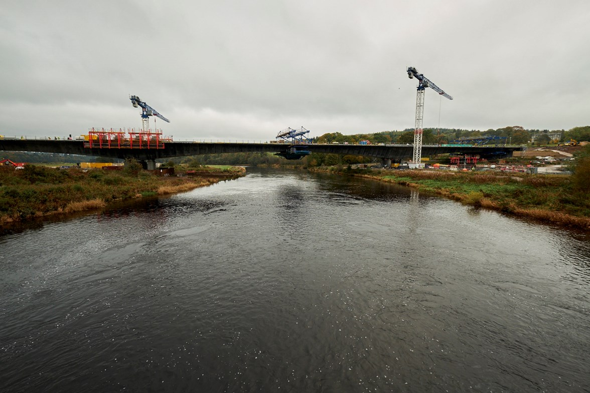 River Dee Crossing 17 Nov 2017