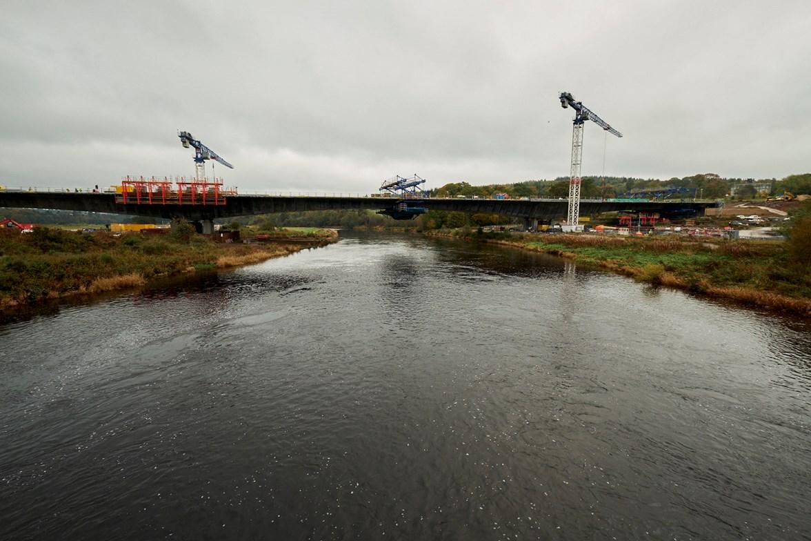 River Dee Crossing 17 Nov 2017