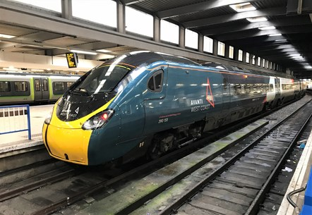 Pendolino - Euston Station