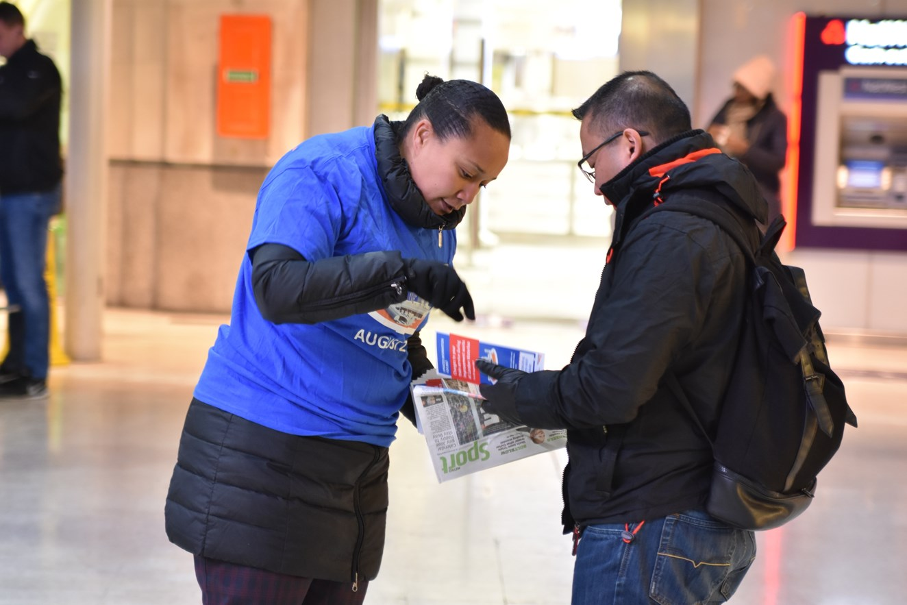 Significant temporary changes to South West Trains services: six months to go: Leaflets and maps are being provided to passengers to notify them of upcoming changes in August (3)