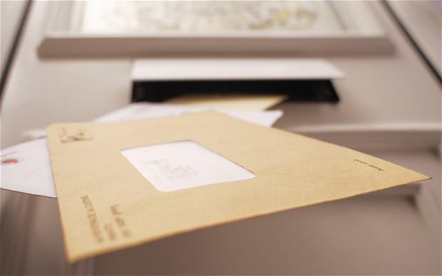 Envelope - canvass