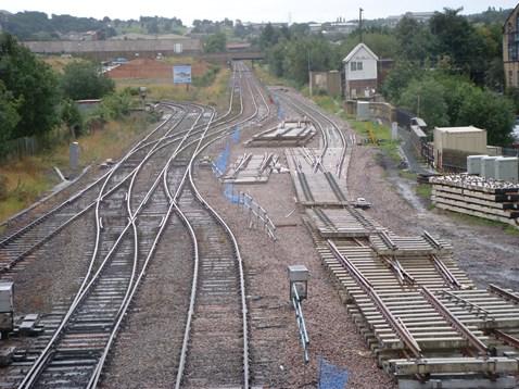 Track Works at Bradford