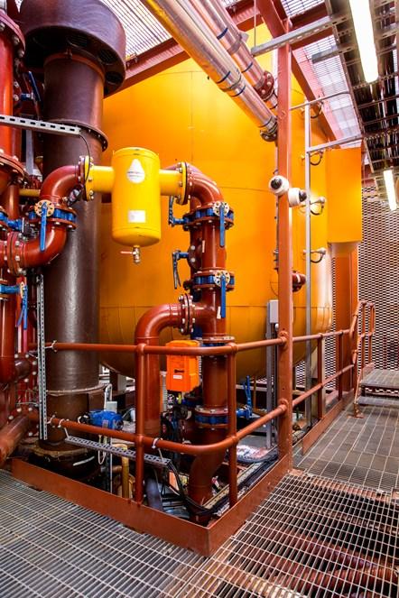Bunhill 2 Energy Centre - Internal 7: An interior shot of the Bunhill 2 Energy Centre on the edge of City Road, Islington