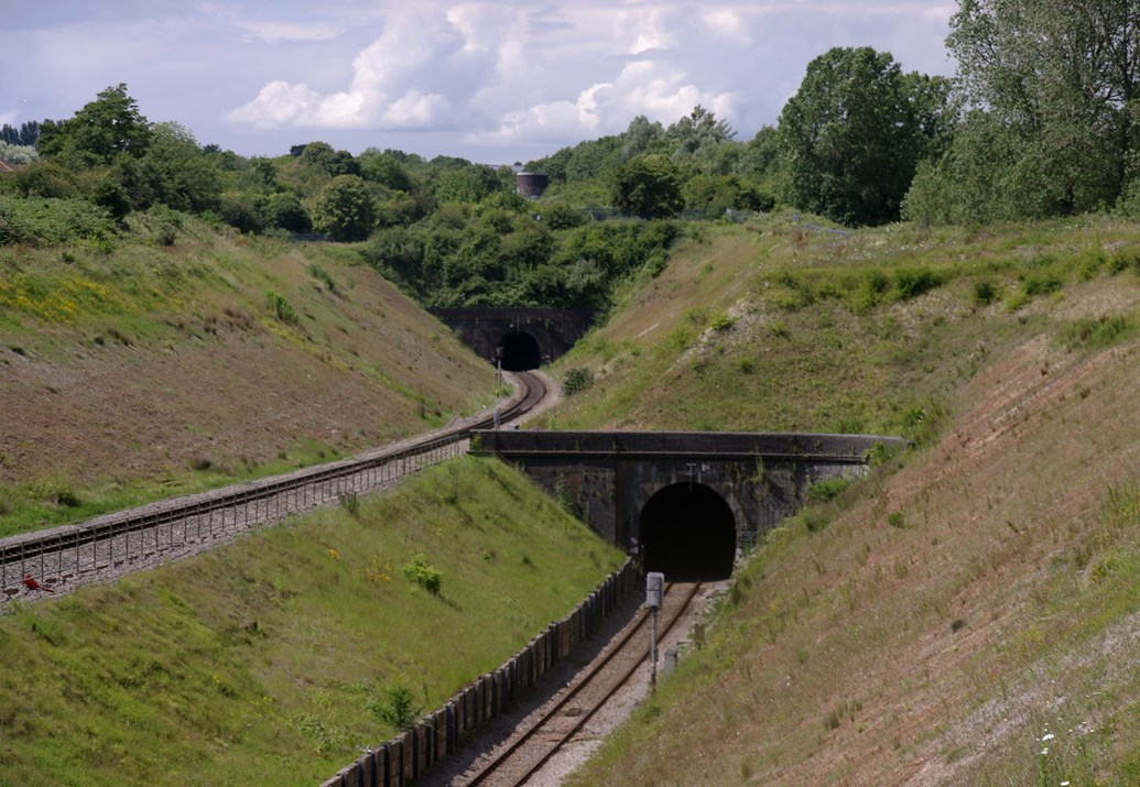 Residents in South Gloucestershire invited to find out more as electrification upgrade continues: Patchway Tunnels Credit Matt Buck