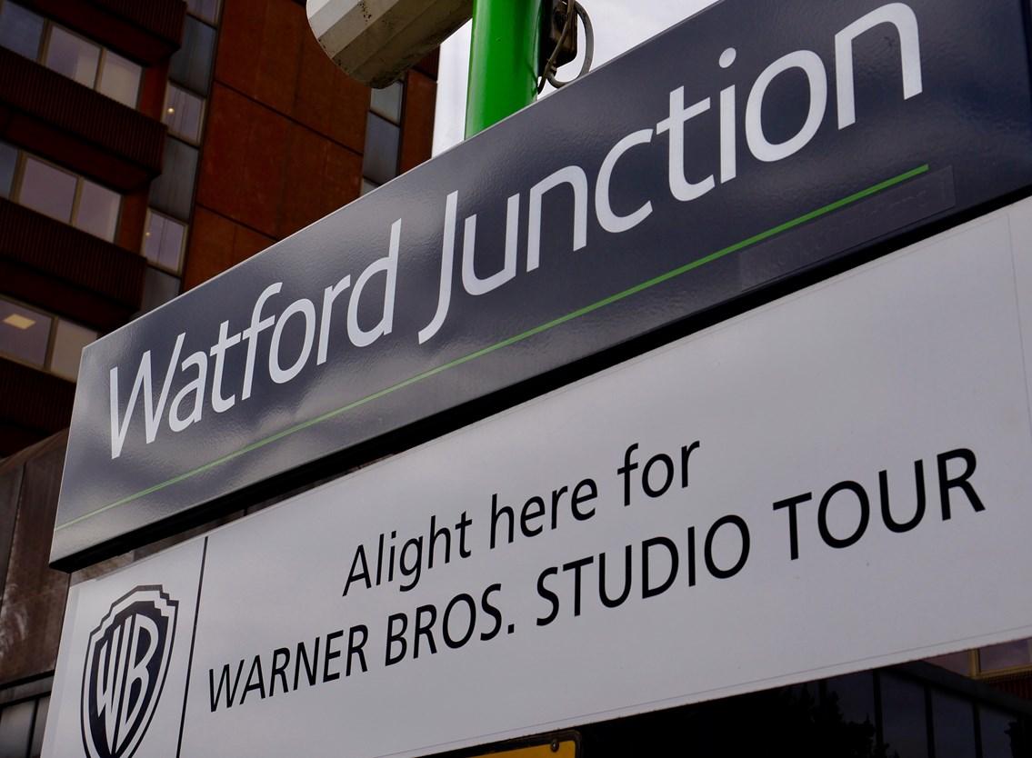 Watford Junction station sign 2