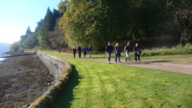 Coway Way - Scotland's Great Trails: Cowal Way - Scotland's Great Trails.