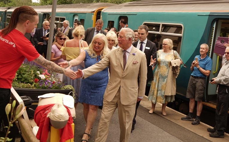 Looking after the Heart of Wales; a community campaign: HRH2