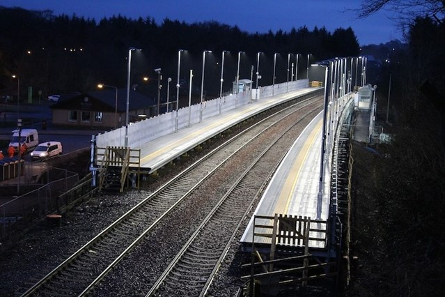 New platforms is a step-up for Livingston South station redevelopment: 9 April6 am East