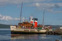 Waverley Paddle Steamer in Tarbert