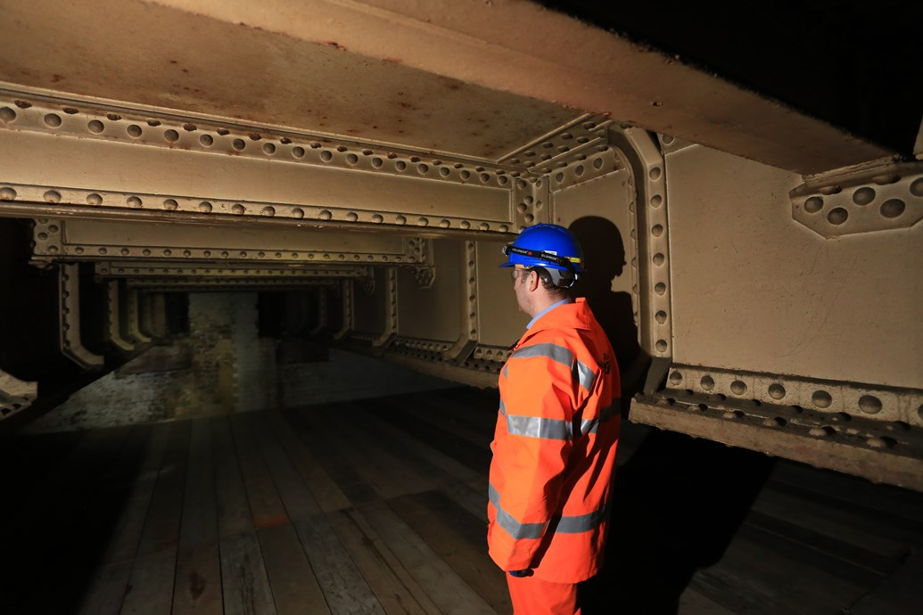 Ghost station uncovered as Thameslink team tackles Victorian viaduct in Bermondsey: Bermondsey Ghost Station 01