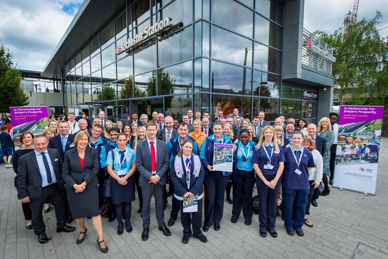 Rail companies launch joint plan to boost jobs, services and investment in South East London and Kent's railway: In Partnership SE London Kent launch group