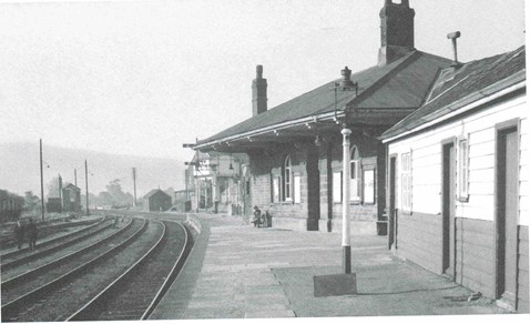 Local residents were asked to send in images of how the station looked originally