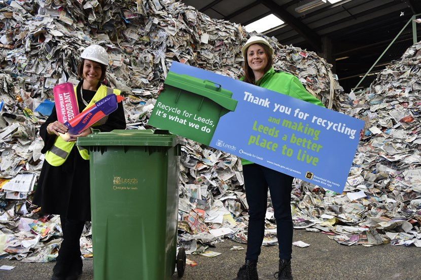 Council throws down the challenge to get Leeds recycling : thankyouforrecycling3.jpg