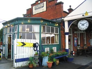 Stalybridge buffet bar - the old conservatory: The old conservatory.