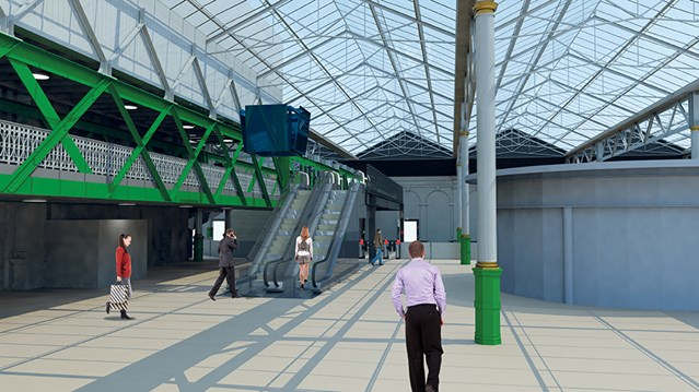 Passenger reminder: Edinburgh Waverley Platform 11 escalators set to close: Waverley platform 11 escalators