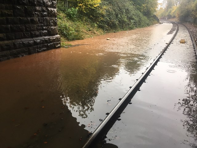 Denby Dale line- photo from 07 11- line now reopened
