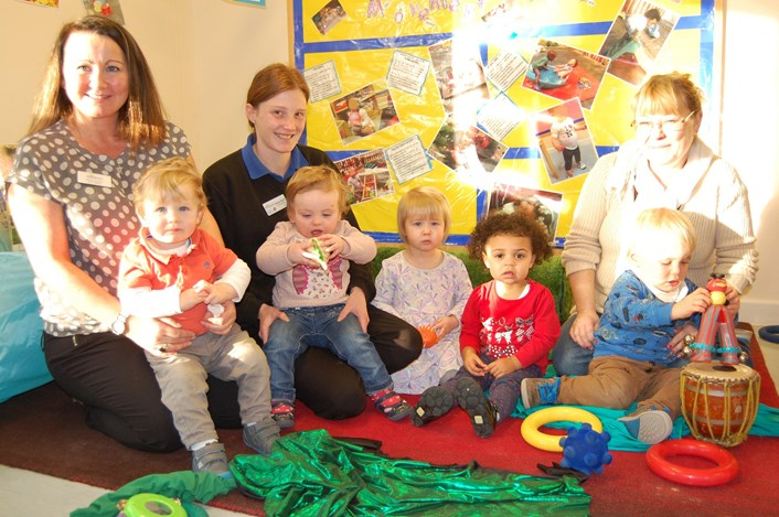 Children's centre comes to the rescue for flooded 'Tadpoles' tots: burleyparkandtadpoles2.jpg
