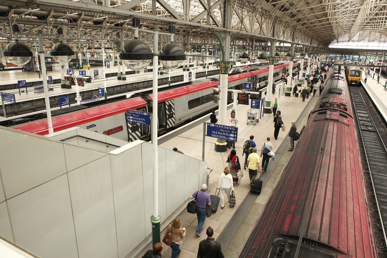 Three top tips for train passengers in Manchester this Saturday: Manchester Piccadilly