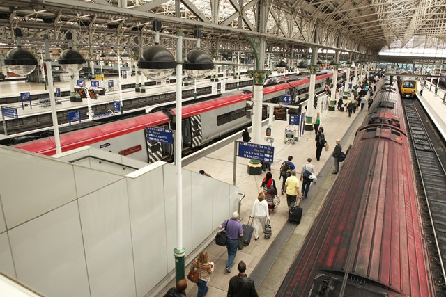 Safety awareness and passenger information day at Manchester Piccadilly: Manchester Piccadilly