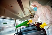 TfL Image - bus cleaning
