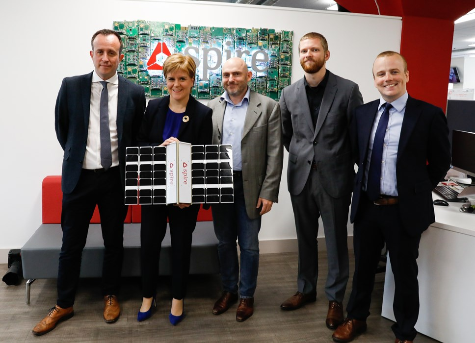 Scottish Enterprise Investment in Space Technology: Spire Global SG Photo