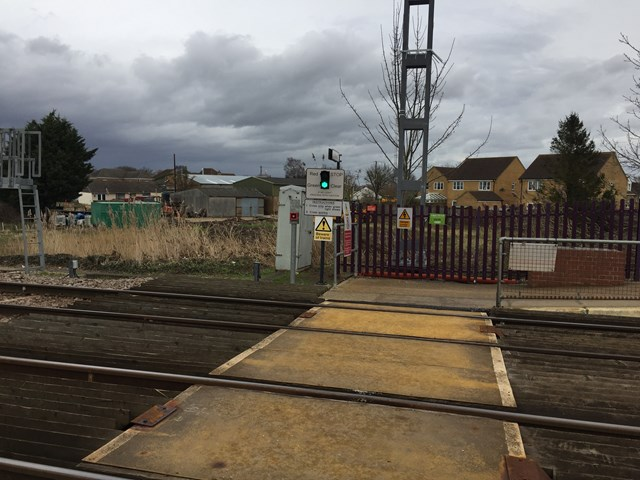 Littleport Track Crossing-2