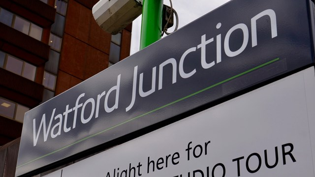 Watford Junction station sign 1