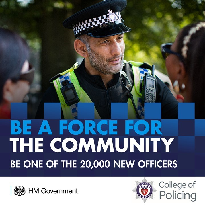 Thinking of joining the police? - video: For image re-use please contact the press office before downloading.