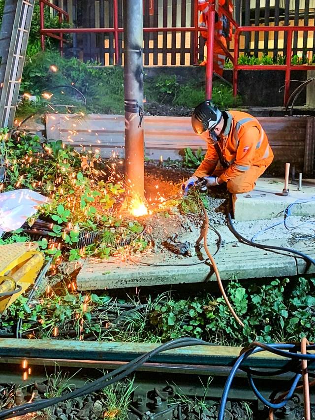 Trafford park resignalling work-2