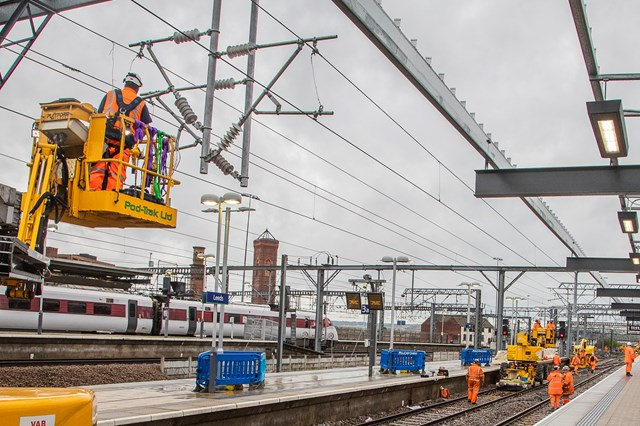 Network Rail prepares for track transformation at Leeds station over late May Bank Holiday: Improvement work at Leeds station