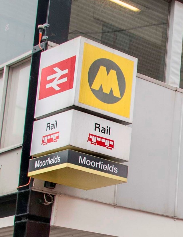 Phase two of £12m Moorfields station refurbishment starts 4 January 2016: moorfields station