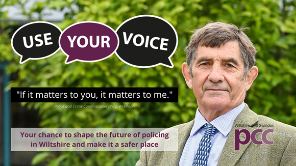 Wiltshire's PCC launches consultation to shape policing future: PCP survey Twitter