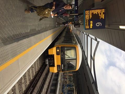 First train at platform 6