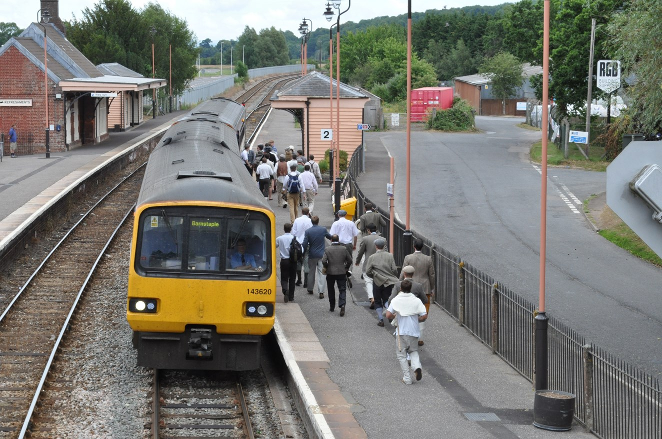 Residents' chance to help shape the future of increasingly popular railway line: Tarka Line in North Devon